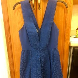 Rebecca Taylor Bright Blue Dress
